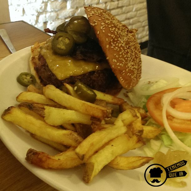 Hamburguesa Restaurante Mad Grill