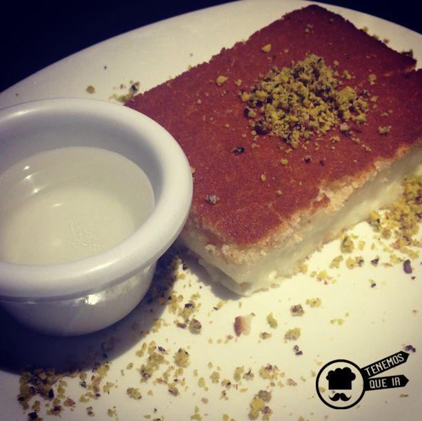 Konafa de Queso Restaurante Shukran Madrid