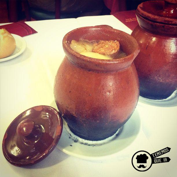 Puchero de Cocido Madrileño. Restaurante La Bola