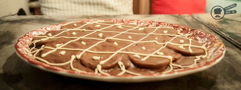 A Restaurante Le Coco Madrid Tenemosqueir Tarta Chocolate de la Abuela