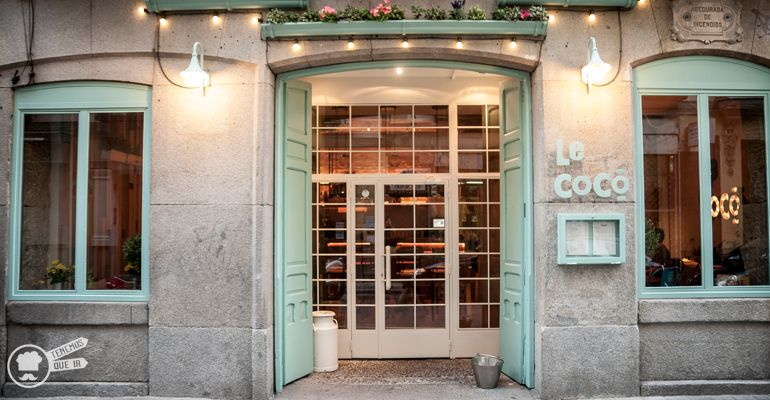 A Restaurante Le Coco Madrid Tenemosqueir calle