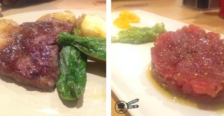 A Restaurante Le Coco Madrid Tenemosqueir carne y tartar