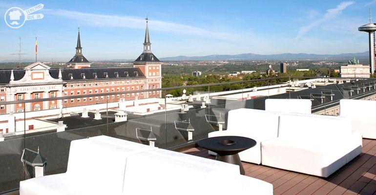 A la Terraza del Hotel Exe Moncloa Tenemosqueir