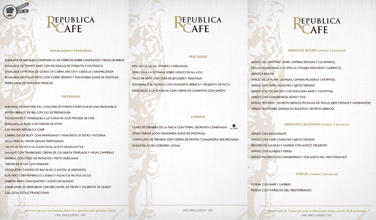 A Restaurante DAltea Tenemosqueir Carta