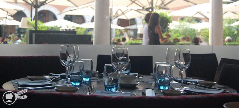 A Restaurante Tse Yang DimSum Club Madrid Tenemosqueir Terraza y Decoracion