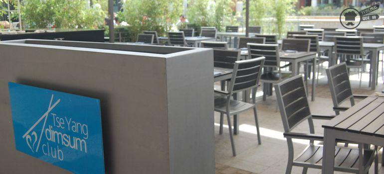 A Restaurante Tse Yang DimSum Club Madrid Tenemosqueir Terraza