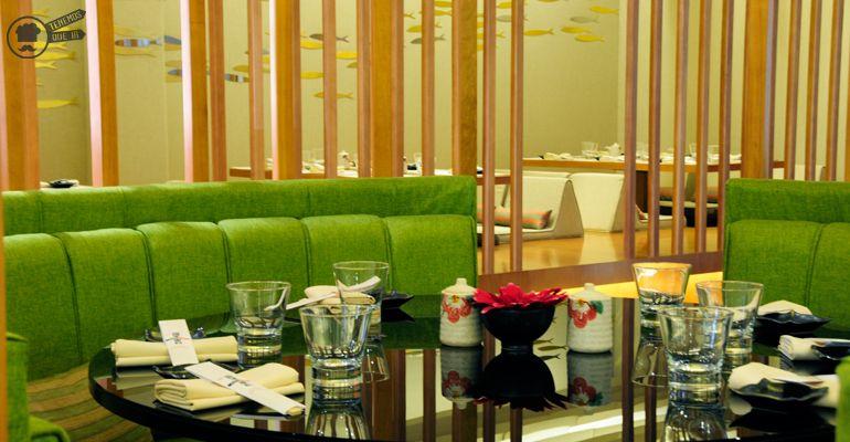 A Nipon Taro Tenemosqueir Restaurante Japones Madrid Decoracion Mesa Redonda