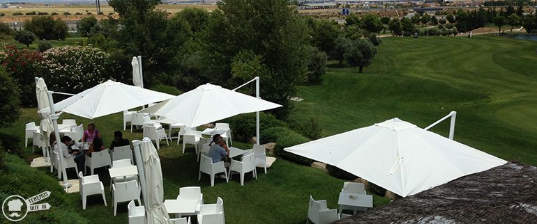 Cafeterias Campos de Golf Madrid El Olivar de la Hinojosa Mesas