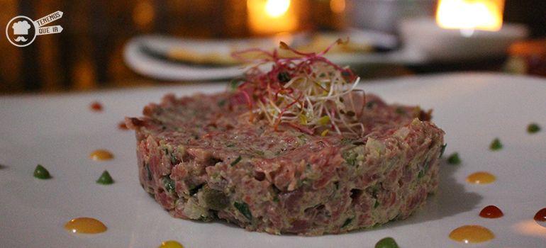 90 Grados Terraza Afterwork Madrid Tenemosqueir Steak Tartar