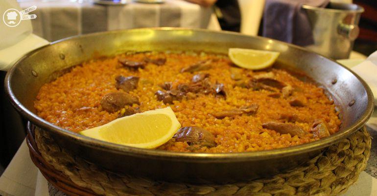 A Arroceria Restaurante El Garbi Madrid Tenemosqueir Arroz Paella de Pato Confitado y Alcachofas