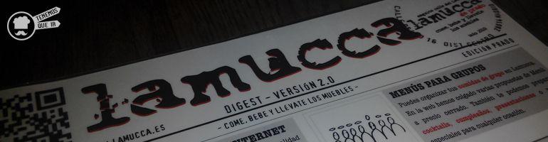 A Restaurante Lamucca Tenemosqueir Madrid