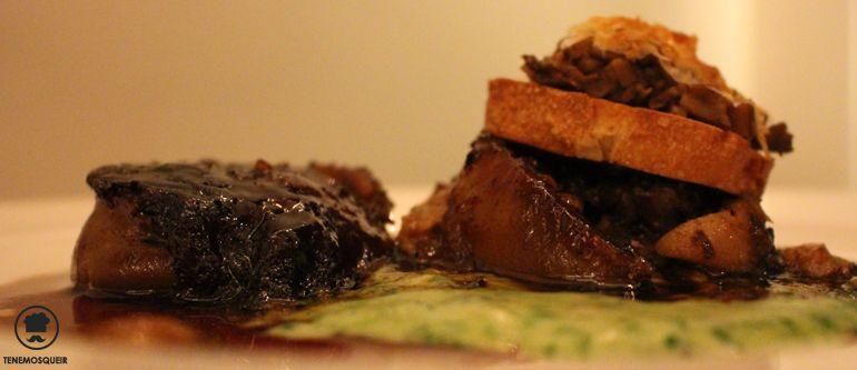 A Lagrimas Negras Restaurante Hotel Silken Puerta de America Tenemosqueir Manitas de Cerdo