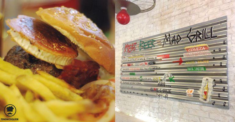 La Mejor Hamburgguesa de Madrid Mad Grill Mad Cafe Tenemosqueir