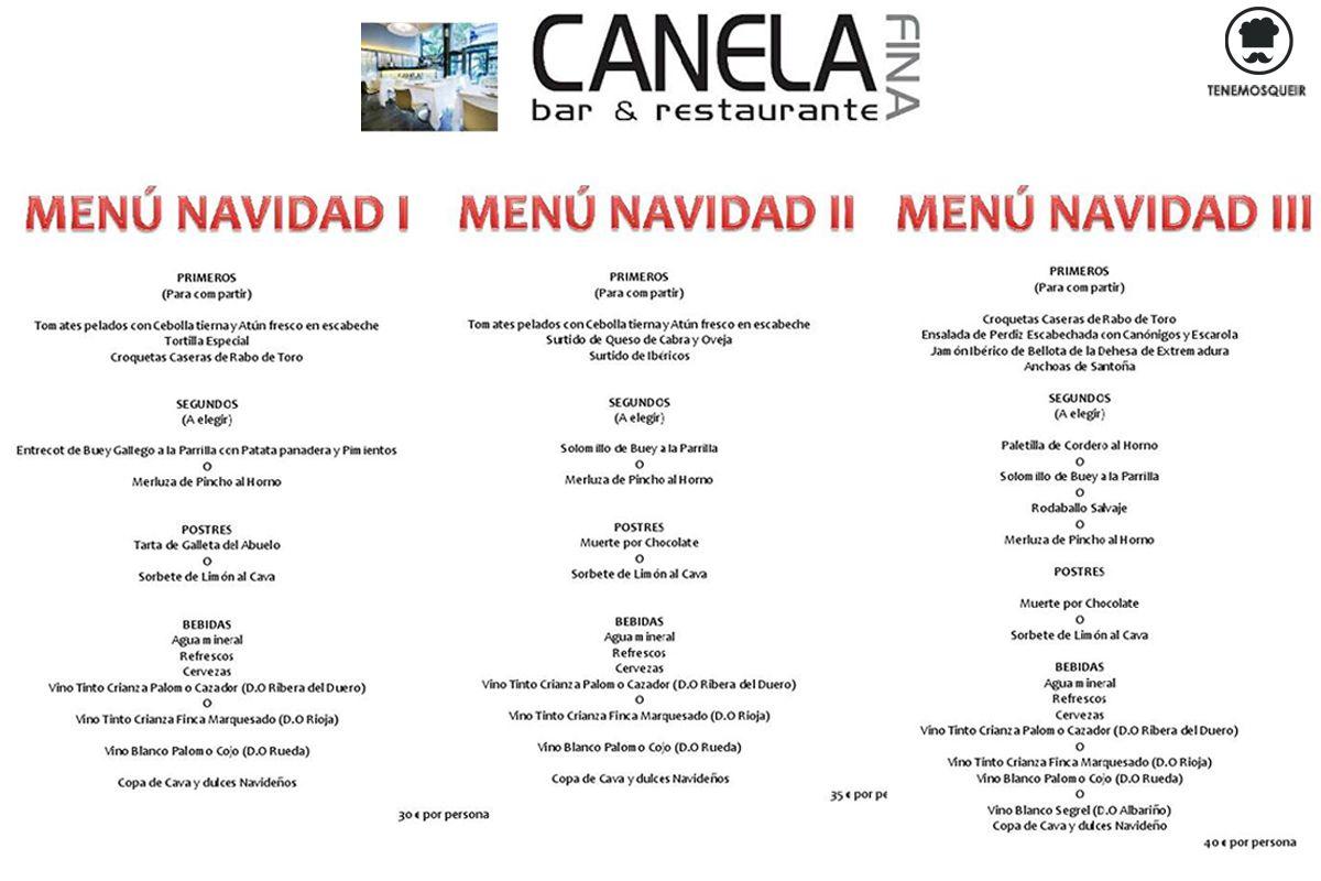 Sonora Restaurant Menu