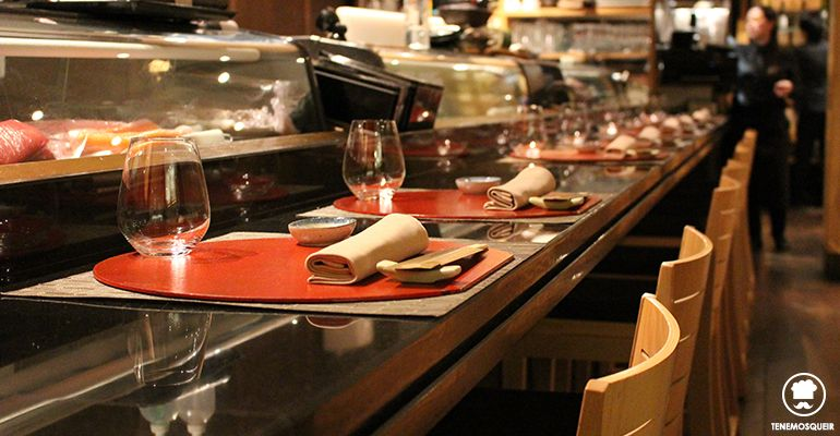 A Miyama Restaurante Japones Sushi Tenemosqueir Madrid Barra