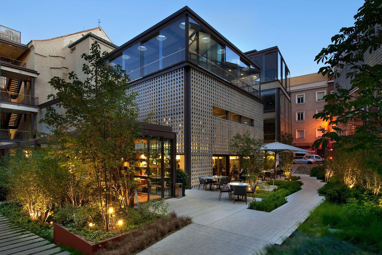 Bosco de lobos un planazo en el colegio de arquitectos de for Restaurante arquitectura
