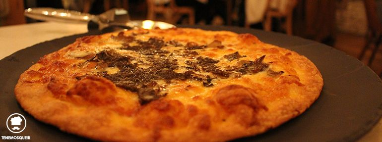 A El Columpio Restaurante Madrid Tenemosqueir Pizza de Trufa Restobar