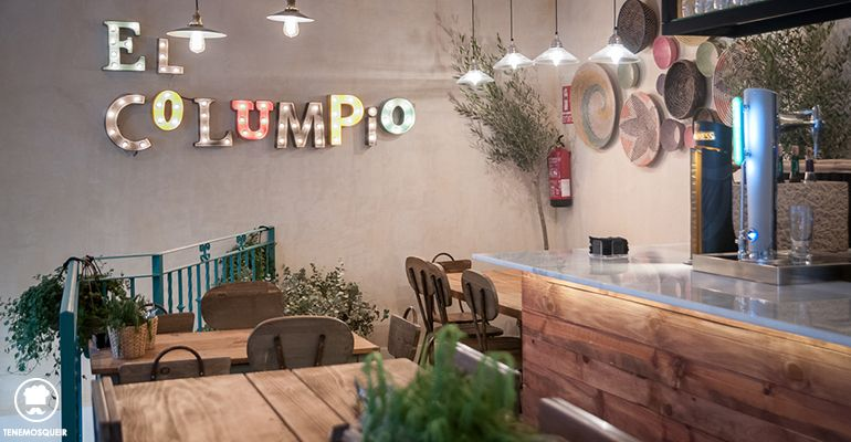 A El Columpio Restaurante Madrid Tenemosqueir Restobar Interior