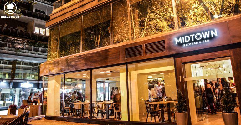 A Midtown Restaurante Madrid Tenemosqueir Exterior
