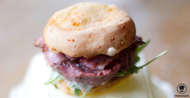 A La Gabinoteca Tenemosqueir Restaurante Hamburguesa Tartare de Carne