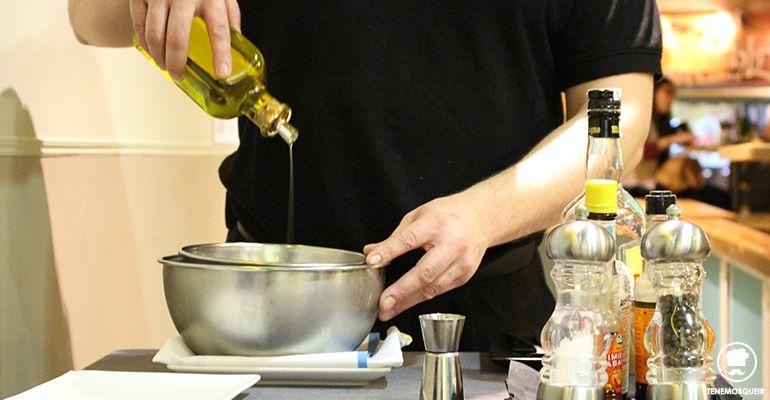 Preparacion Steak Tartar A la Parrilla de Elcano Restaurante Carne Madrid Tenemosqueir