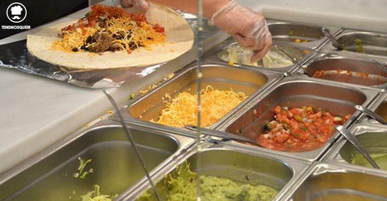 Proceso Burrito Tierra Burrito Bar Restaurante TexMex Madrid Tenemosqueir Sagasta