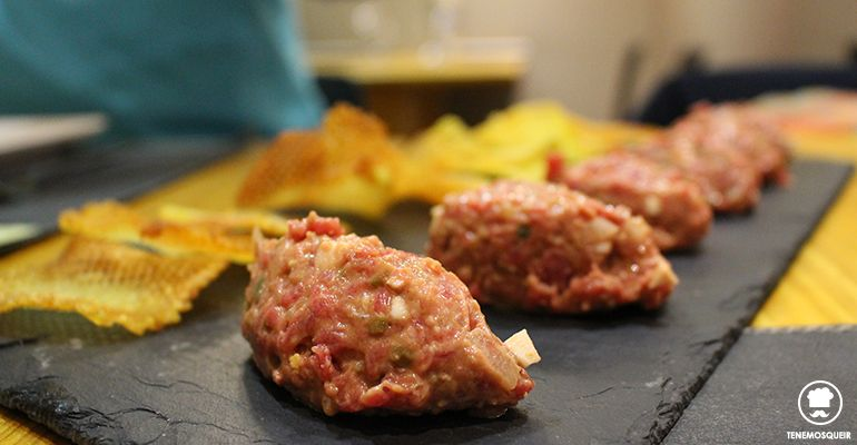 Steak Tartar A la Parrilla de Elcano Restaurante Carne Madrid Tenemosqueir