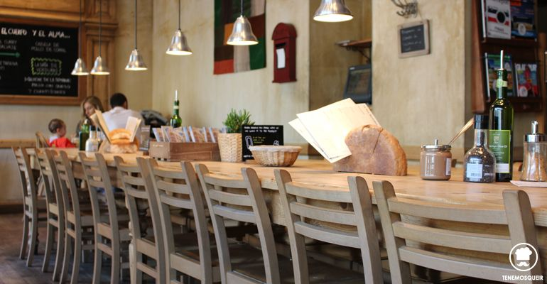 A la Panaderia Le Pain Quotidien Tenemosqueir Madrid Kids Friendly