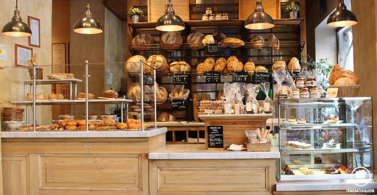 A la Panaderia Le Pain Quotidien Tenemosqueir Madrid Panes Mostrador