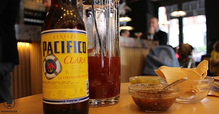 Cerveza A Restaurante Mexicano Taqueria La Lupita Madrid Tenemosqueir