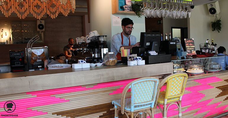 Barra A Cafe Wanda Tenemosqueir Madrid