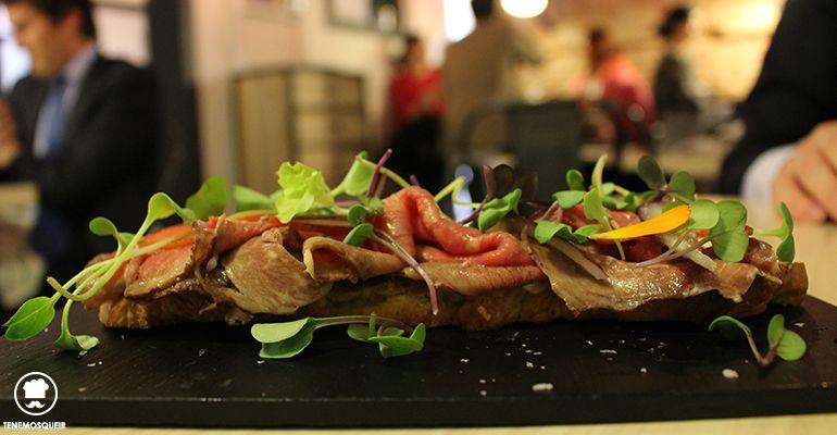 Coca Roast Beef Restaurante TreZe Tenemosqueir Madrid
