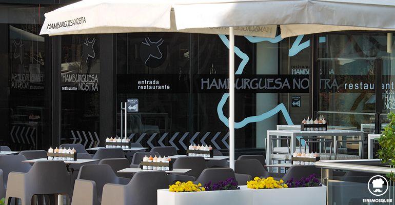 A Restaurante Hamburguesa Nostra Tenemosqueir Madrid Terraza