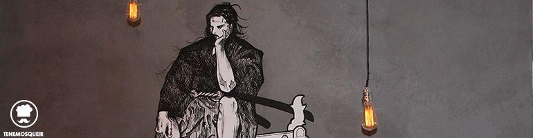Dibujo A Ninja Ramen Restaurante Japones Madrid Tribunal Tenemosqueir