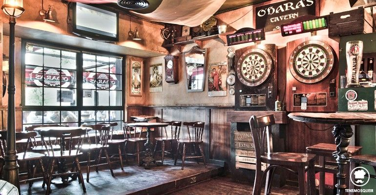 Resultado de imagen de pub irlandes dardos