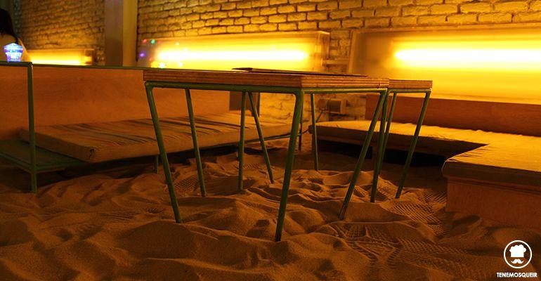 Playa Ojala Restaurante con Arena de Playa en Madrid
