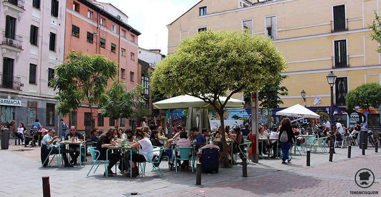 Terraza Ojala Restaurante con Arena de Playa en Madrid