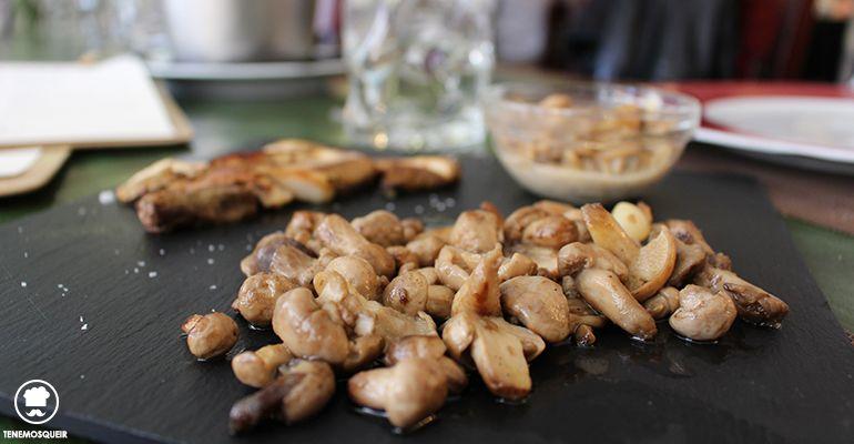 Variado de Setas Restaurante Variopintos Madrid Soria Tenemosqueir