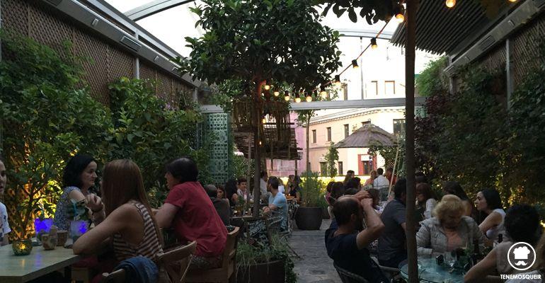 Terraza Salvador Bachiller Jardin Secreto Madrid Tenemosqueir