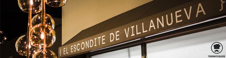 A Restaurante El Escondite de Villanueva Tenemosqueir Madrid