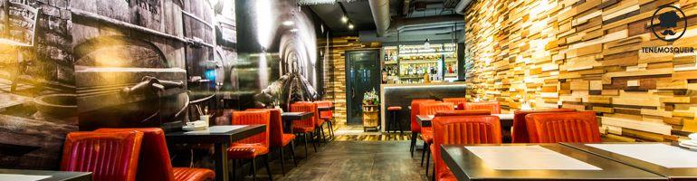 A Restaurante SotTenemosqueir Madrid Cabecera Barra