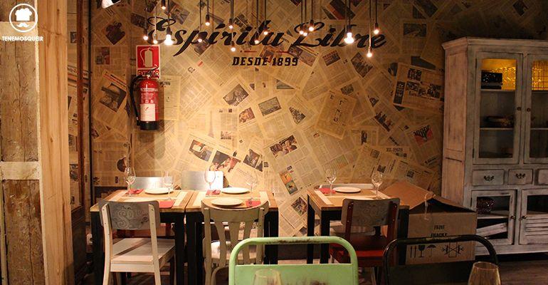 Decoracion Restaurante Saporem Chueca Madrid Tenemosqueir