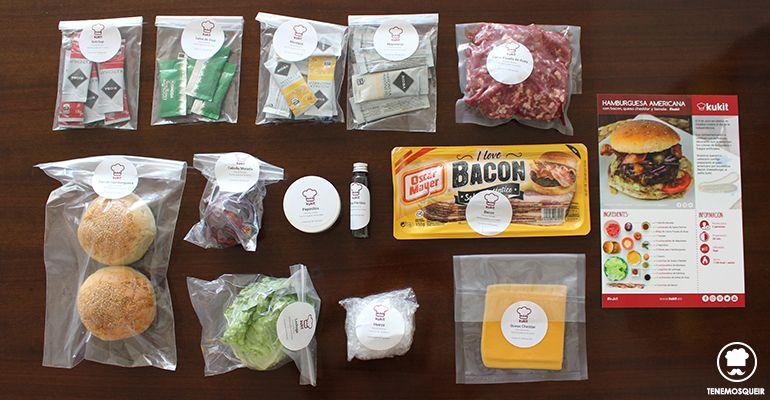 Ingredientes Cocina Kukit Tenemosqueir Caja de Recetas