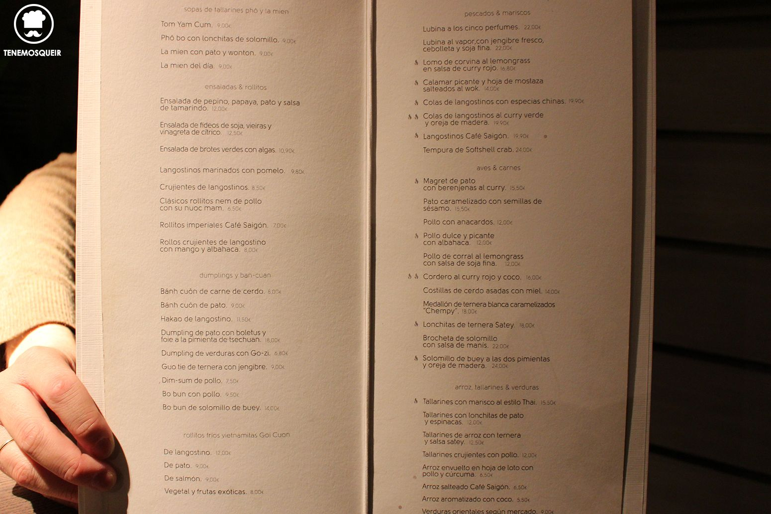 carta-cafe-saigon-restaurante-vietnamita-madrid