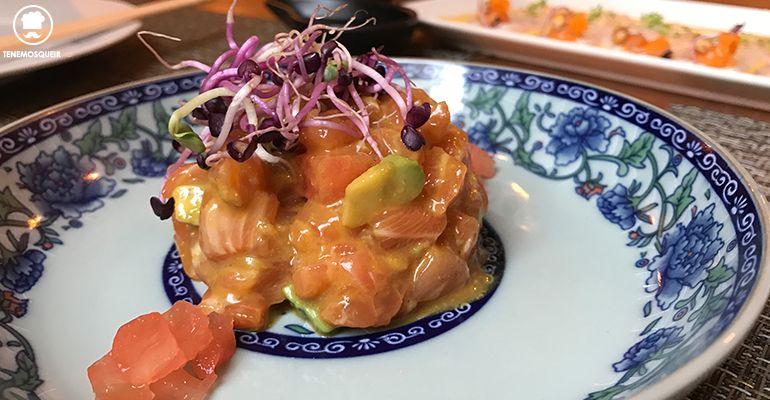 Ronda 14 Restaurante Fusion Madrid Tenemosqueir Tartar Salmon