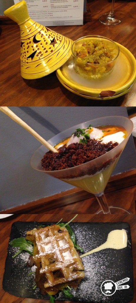 Pinchos Evboca Madrid: Lámpara de Aladino, Huevos rotos y Harlem