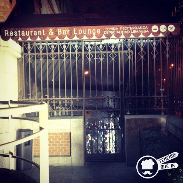 Entrada Restaurante Shukran Madrid