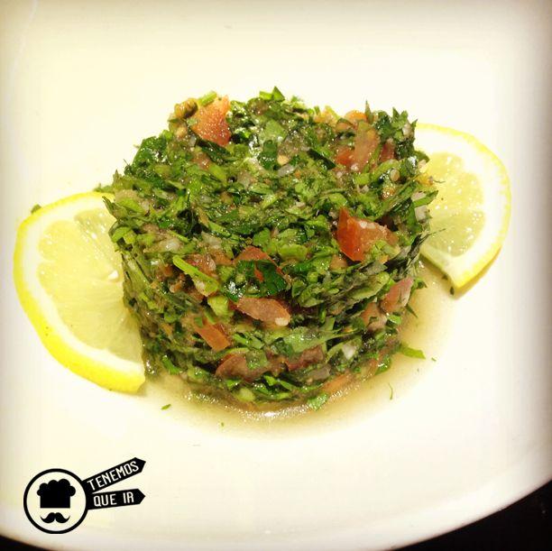 Tabbouleh Restaurante Shukran Madrid