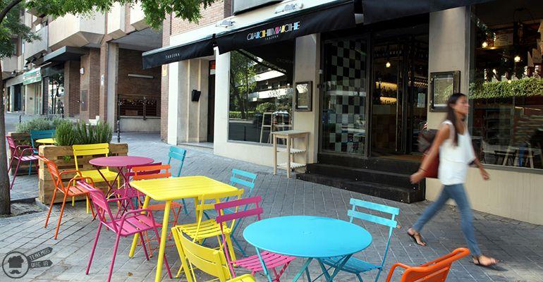 Terraza A Taberna Cachivache Tenemosqueir Restaurante Madrid