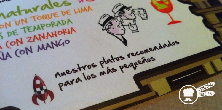 Platos para peques Restaurante Costello Rio Madrid